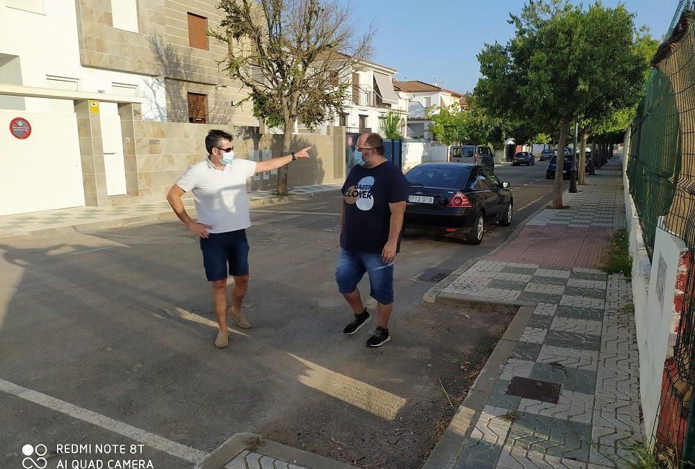 Toma de contacto con la nueva asociación de vecinos de Andújar