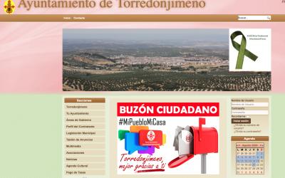 El Ayuntamiento pone en marcha el buzón ciudadano en la web municipal