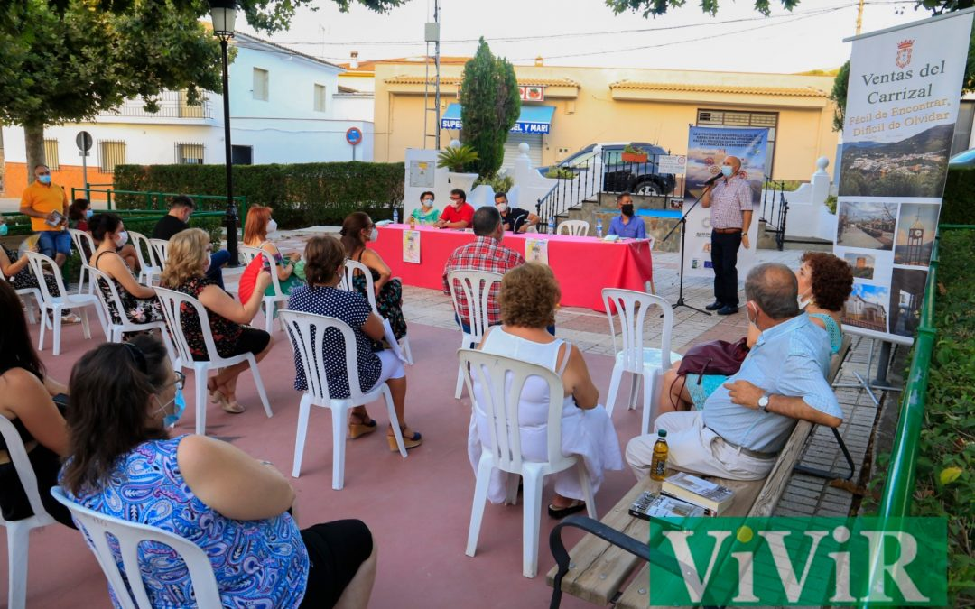 Una novela con raíces en Ventas del Carrizal [Galería de fotos dentro]