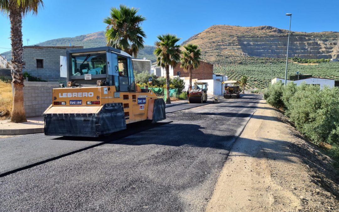 Concluida la primera fase de las obras de la Avenida de Torredonjimeno