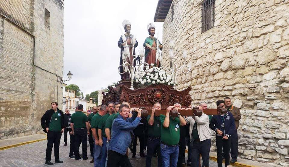 La Cofradía suspende oficialmente los actos de 'los Santicos' para septiembre
