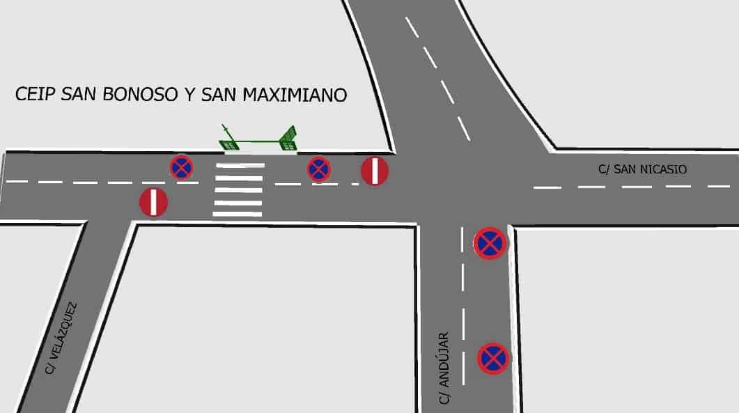 Reordenación del tráfico para la vuelta al cole
