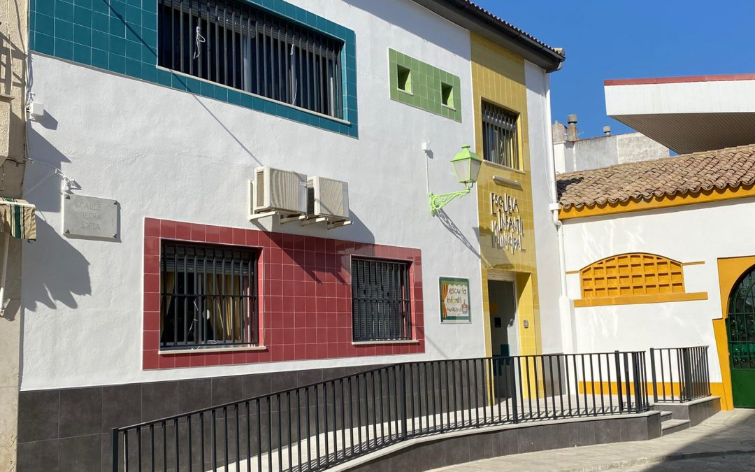 La Escuela infantil Municipal de Marmolejo luce totalmente reformada y adaptada a la normativa