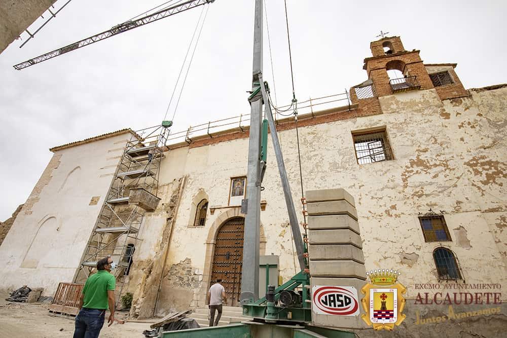 Consolidación del convento de Jesús y María de Alcaudete
