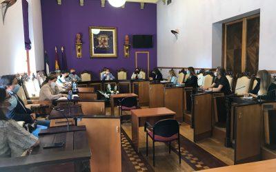 Mesa técnico-política para coordinar las actividades programadas en Jaén