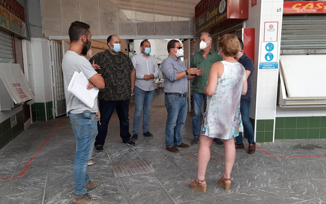 La Plaza de Abastos de Andújar se hace más accesible
