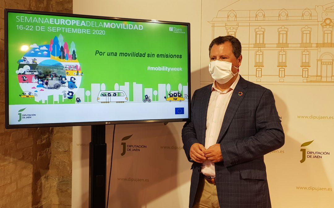 La Diputación de Jaén se suma a la Semana Europea de la Movilidad