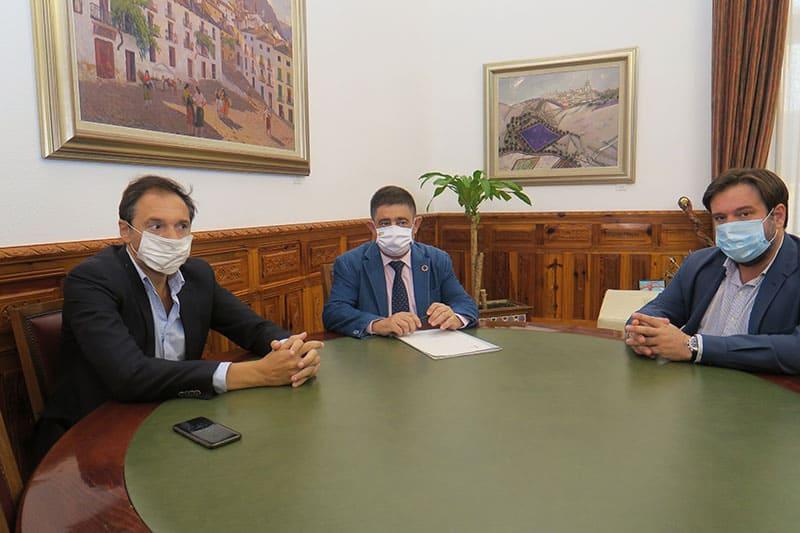Proyecto entre Diputación y Patronal para impulsar el tejido empresarial jiennense