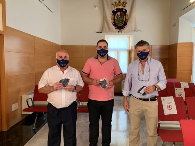 Mascarillas de Los Noguerones para el Ayuntamiento de Martos