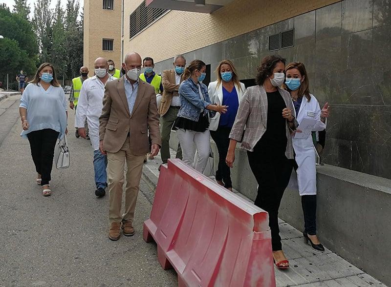 La Junta cifra en un millón de euros la inversión reciente en infraestructuras sanitarias en Linares