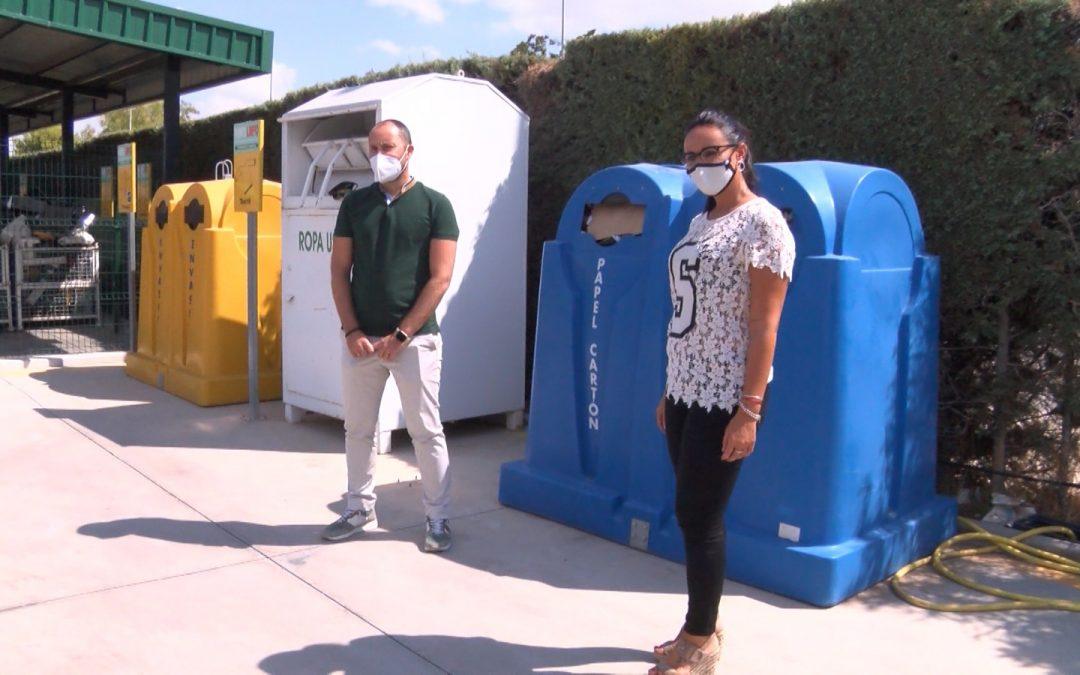 'Puerta a Puerta' campaña para reciclar el cartón y el papel de las empresas de Torredelcampo