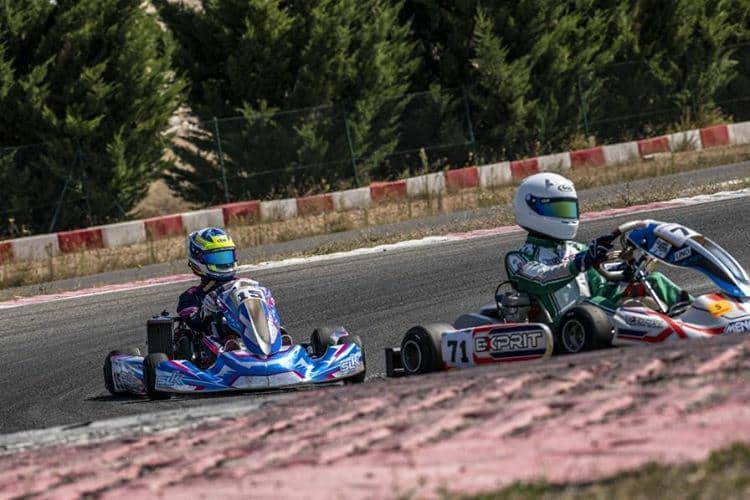 Manuel Jiménez, primero en el Campeonato de Andalucía de Karting