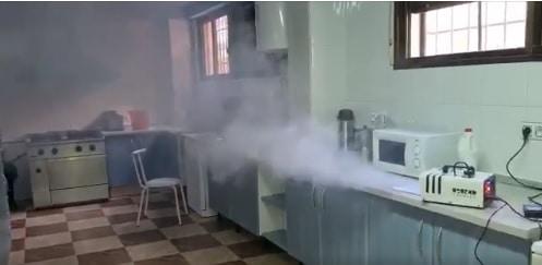 El Ayuntamiento adquiere un nebulizador para la desinfección de los edificios públicos