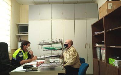 Reuniones para la evitar la propagación del coronavirus en Torredonjimeno