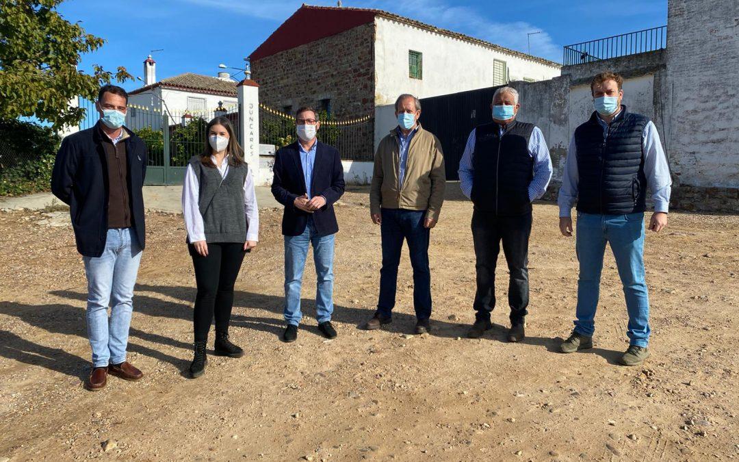 El PP pedirá el arreglo integral de la JV-5013, una vía esencial para agricultores y ganaderos de Villanueva de la Reina y Guarromán