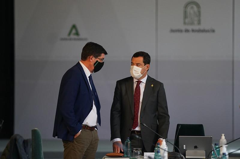 La Junta anuncia su decisión del cierre perimetral de Andalucía
