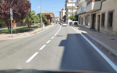 Mejora de la señalización en las carreteras A-316 y N-321 en Martos