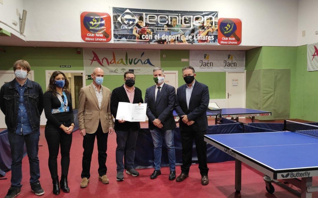 Linares acoge el primer Centro de Tecnificación Deportiva de la provincia