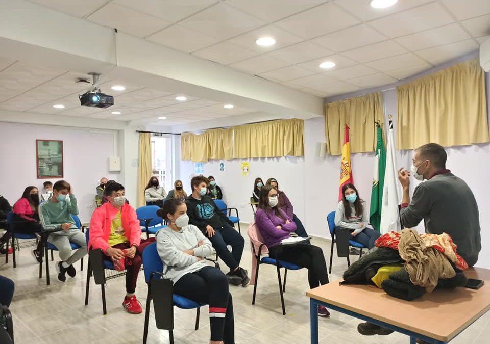 Diversidad Sexual y relaciones consentidas, dos charlas para alumnos del IES Sierra de la Grana