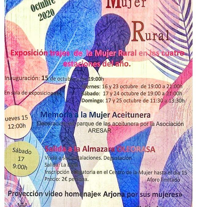 Hoy comienza la programación especial del Día de la Mujer Rural en Arjona