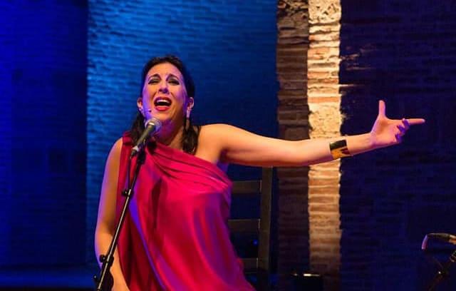 Laura Vital actúa esta semana en Villanueva de la Reina