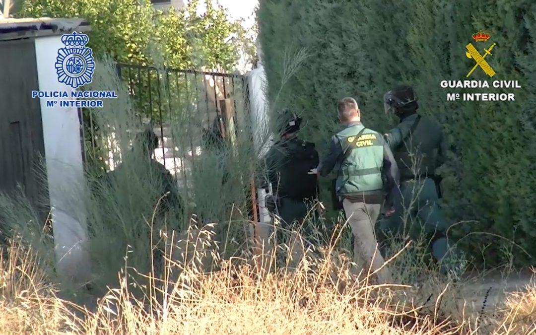 """VÍDEO EN EL INTERIOR: Cae una """"violenta organización criminal"""" dedicada al tráfico de drogas con ramificaciones en Linares y La Carolina"""