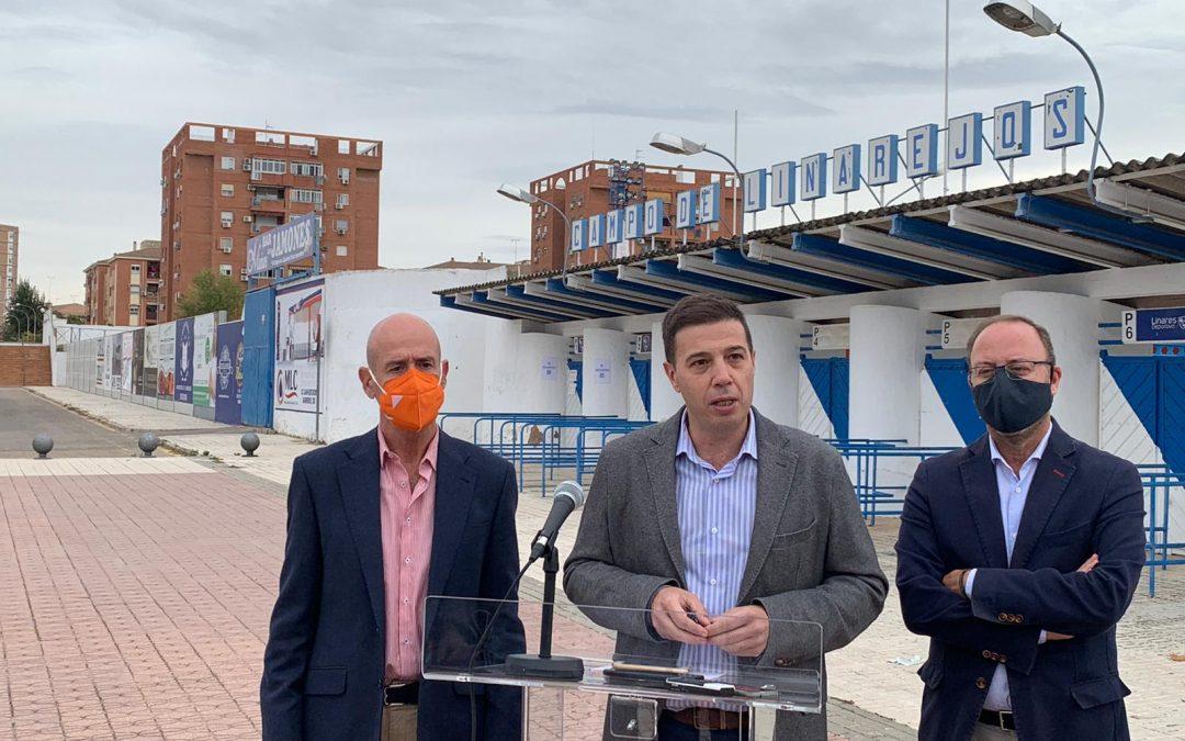 Ciudadanos propone que Diputación y el Ayuntamiento de Linares cofinancien la reforma integral de Linarejos