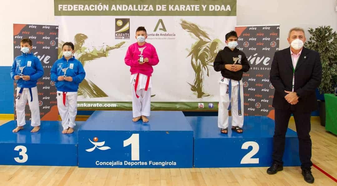 Un castillero, subcampeón de Andalucía de Kárate