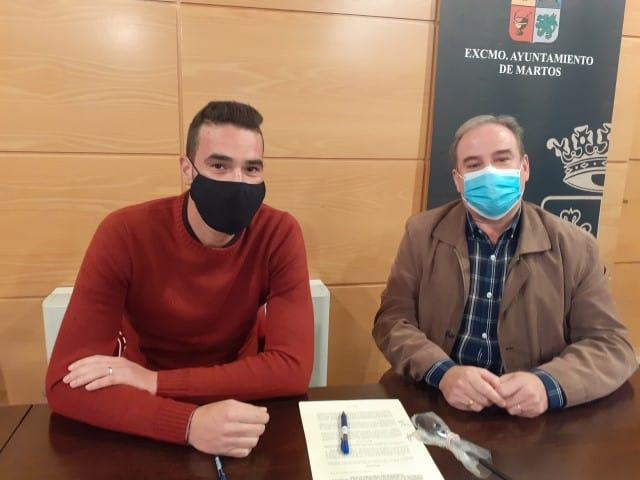 Incentivo municipal al equipo sénior de la CD Tuccitana
