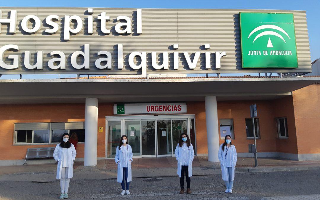 El Hospital Alto Guadalquivir da la bienvenida a cuatro nuevas especialistas internas residentes