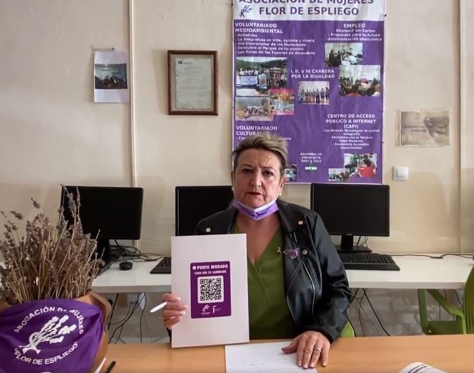 Códigos QR en Alcaudete contra la violencia de género