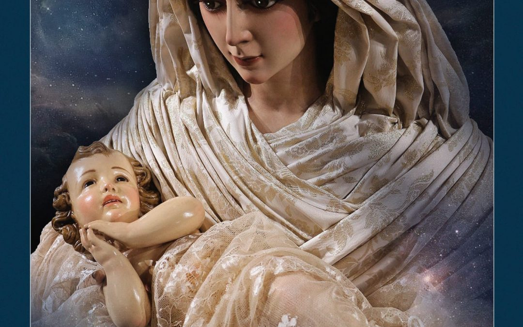La Cofradía de la Natividad ya tiene las colgaduras de Navidad