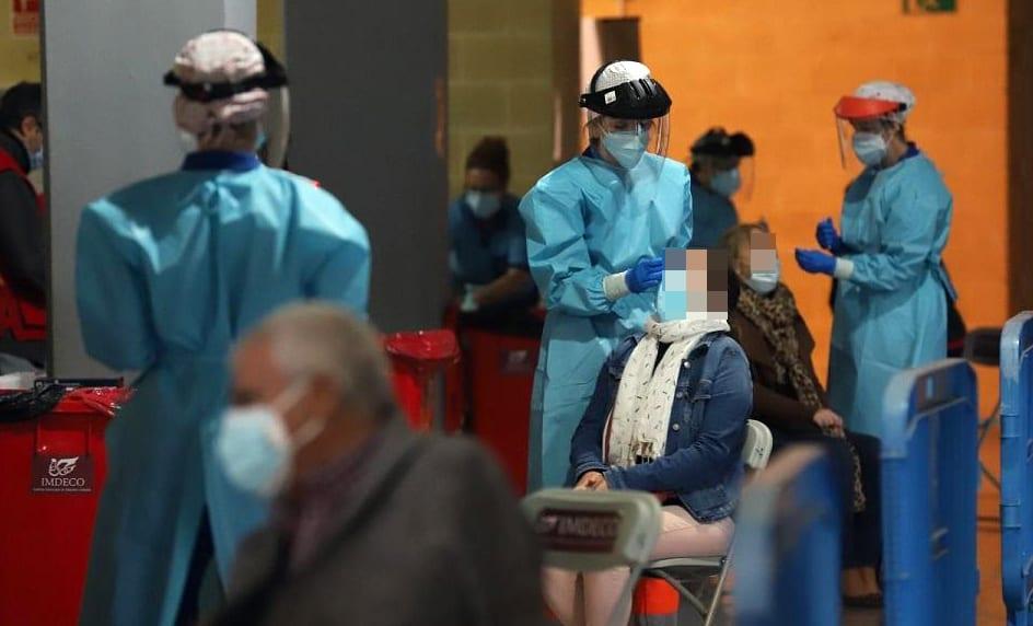 Este viernes la tasa de incidencia del coronavirus en Lopera está en 55, frente a la media provincial de 214