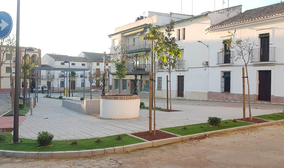 Renovado aspecto para la plaza Juan Rafael Criado