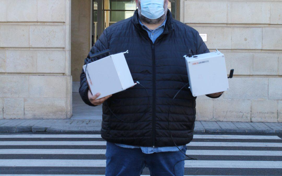 Sensores para medir la calidad del aire en Andújar