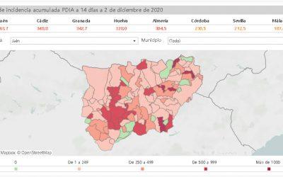 El coronavirus deja este miércoles en la provincia 165 nuevos contagios