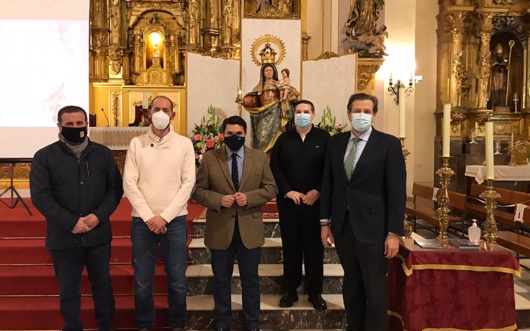 La patrona de Marmolejo vuelve a su parroquia tras su restauración