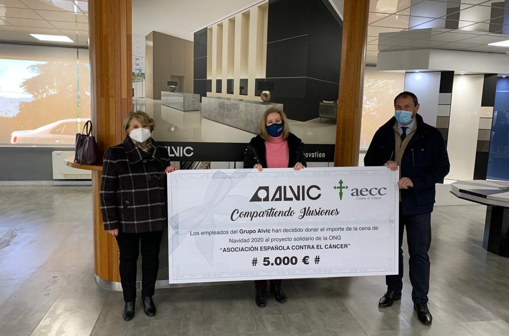Donativo solidario en Alcaudete