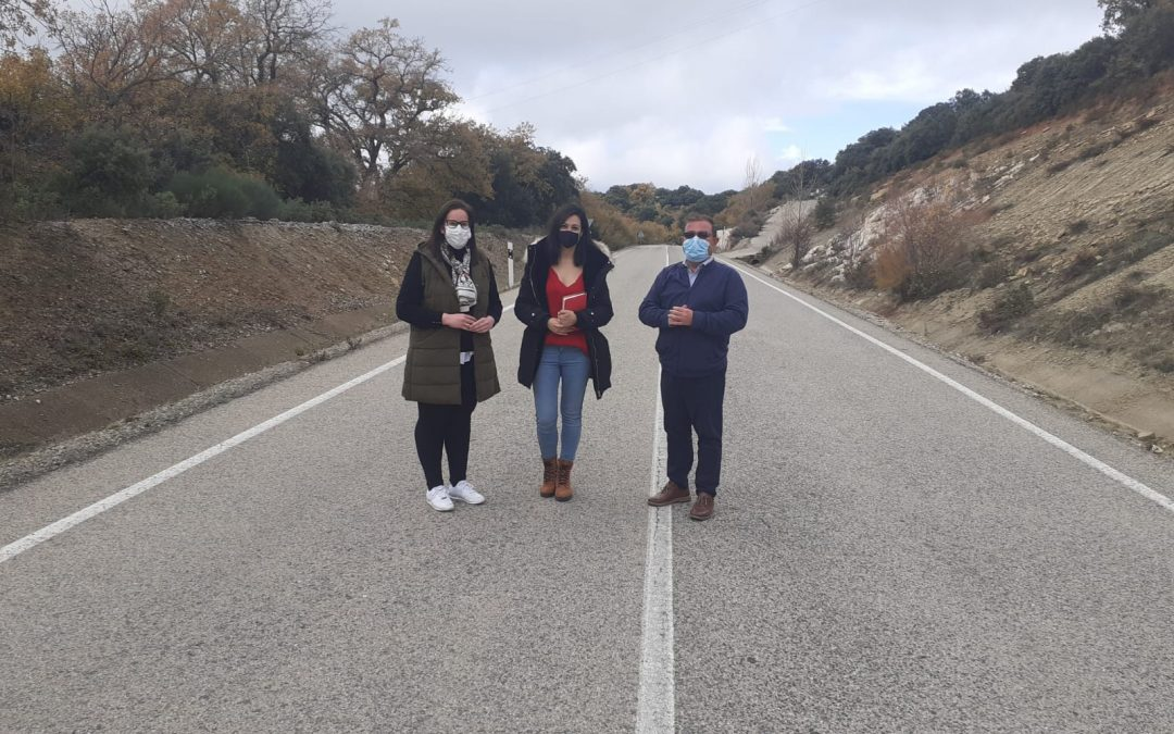 Mejoras en la carretera de Castillo de Locubín a Fuensanta