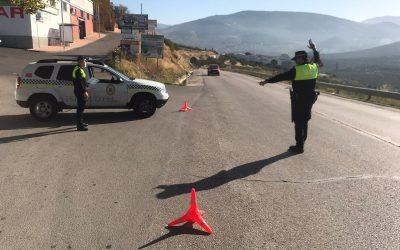 La Policía Local ha interpuesto 61 denuncias durante el fin de semana tras entrar en vigor el cierre perimetral de la capital