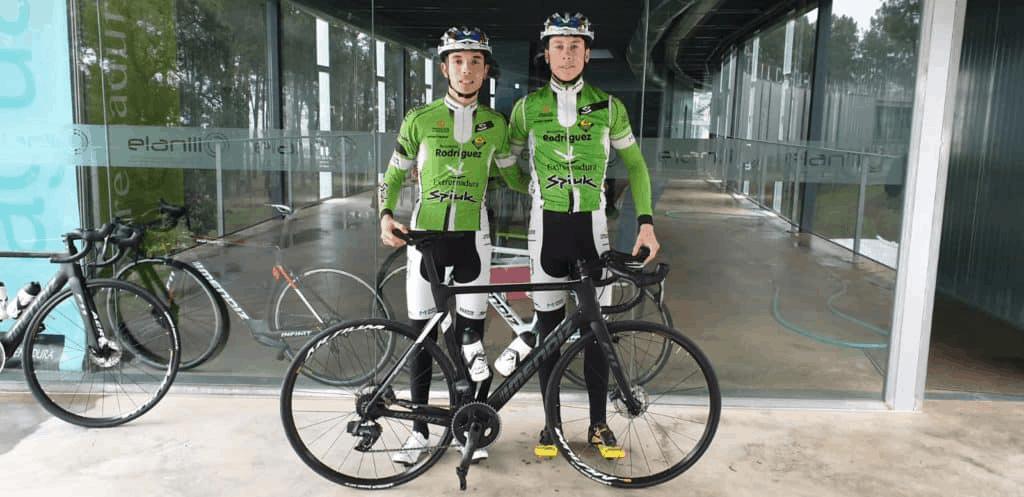 Acento de Jaén en el ciclismo extremeño