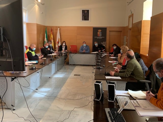 Primera reunión de la Mesa de Movilidad de Martos