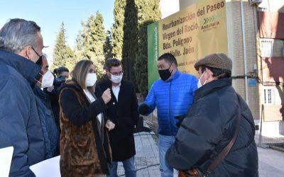 La Junta inicia las obras de remodelación del Paseo Virgen del Rocío