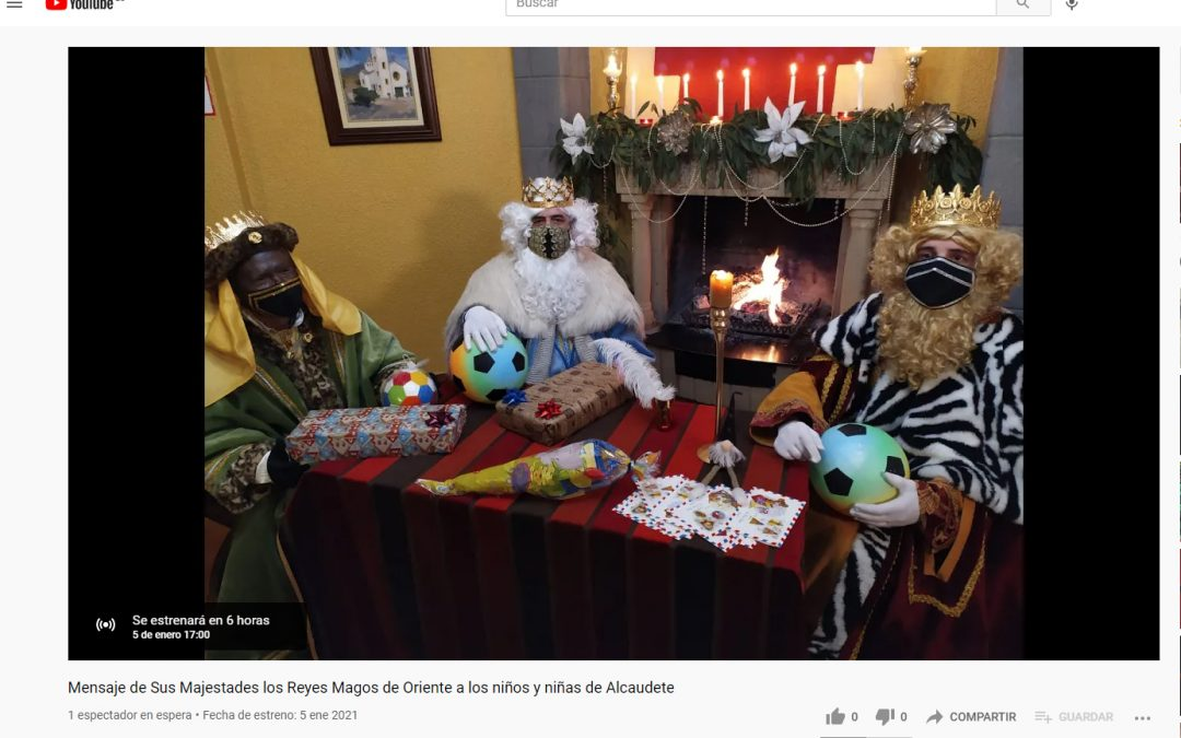 Los Reyes Magos llegan hoy a Alcaudete
