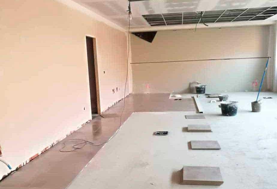 Avanzan las obras de la nueva sede de la Policía Local de Andújar
