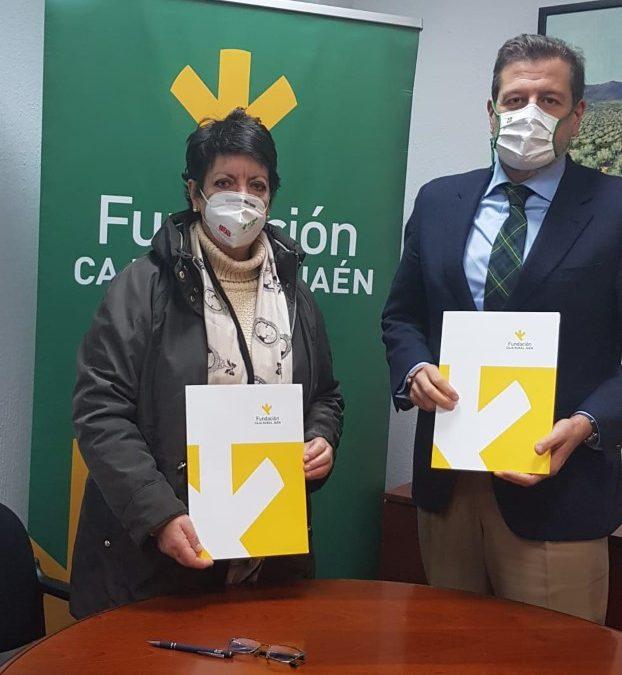 Acuerdo de subvención entre Fundación Caja Rural y Asociación Síndorme de Down Jaén y provincia