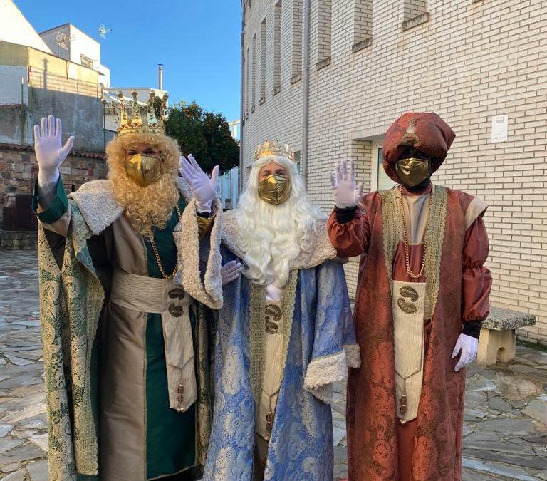 Los Reyes Magos llegan a La Carolina