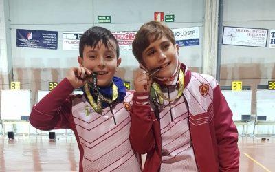 Medallas en el andaluz de tiro con arco para deportistas iliturgitanos