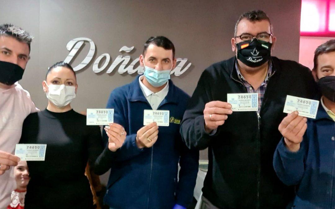 El Restaurante Doñana reparte suerte entre 80 de sus clientes