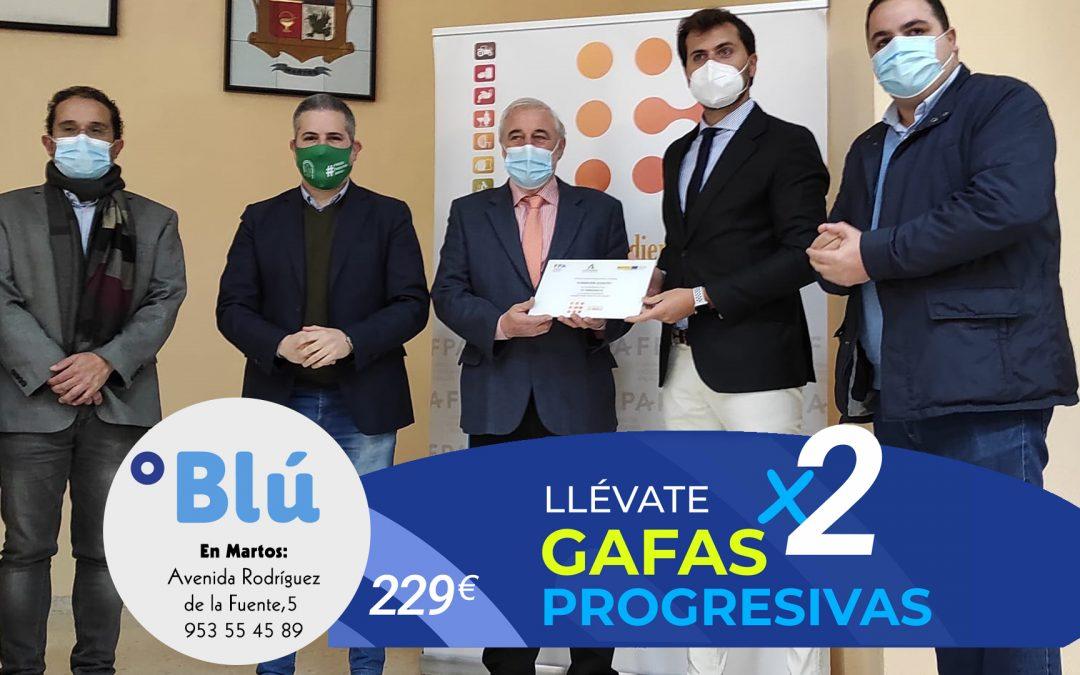 Premio de la Junta de Andalucía por el impulso a la Formación Profesional